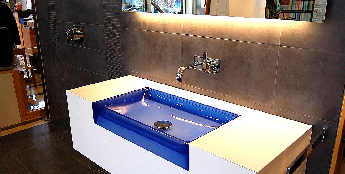 Galerie  Toda exclusive ~ Waschbecken Blau